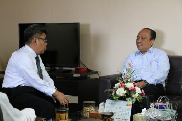 Kunjungan Kepala Perwakilan BPK Provinsi Sumatera Barat ke BPKP