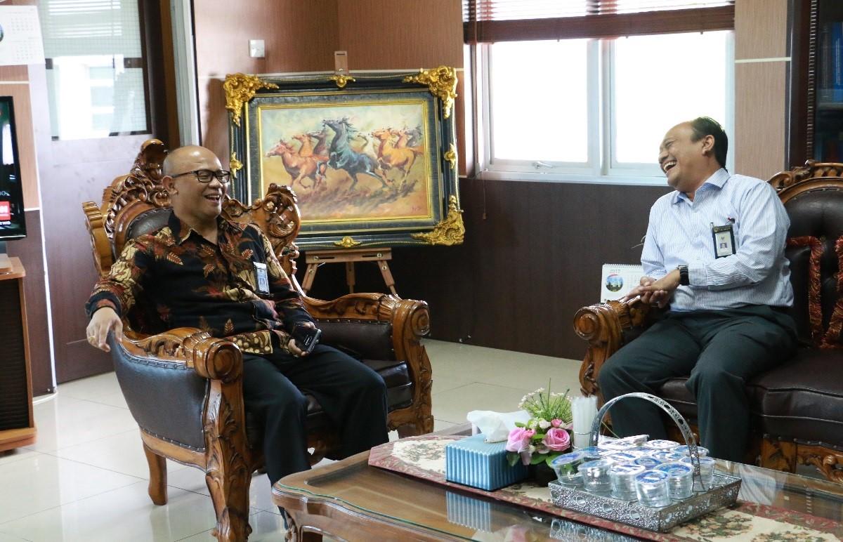 Kunjungan Kepala Perwakilan BPK Provinsi Sumatera Barat ke Kanwil DJP