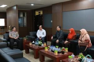 Kunjungan Kepala Perwakilan BPK Provinsi Sumatera Barat ke Polda